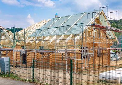 Blockhaus Canada, ökologisch Dämmen, nachhaltig bauen