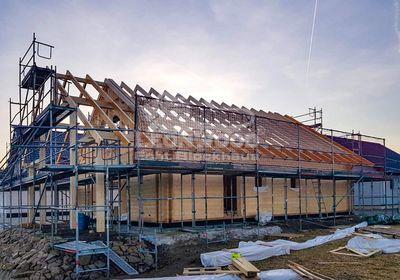 LeonWood Blockhaus Espoo 108 Euskirchen, skandinavische Bauweise
