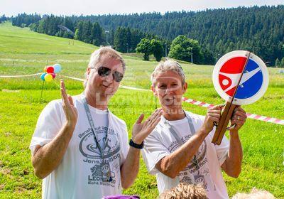 Benefizlauf 2019; Schirmherr und Markenbotschafter, Jens Weißflog
