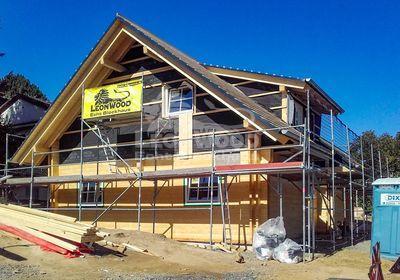 Holzhaus Scandic im Siegerland, Mehrgenerationenhaus, Baustoff Holz