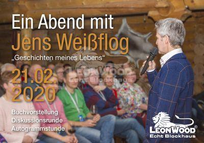 Lesung Jens Weißflog Hotel LeonWood, Ein Abend für den guten Zweck