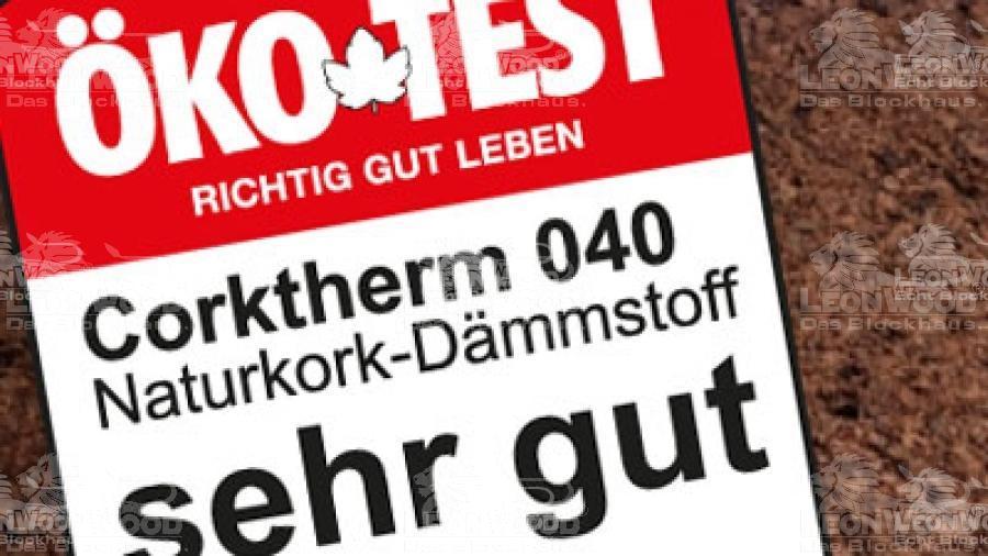 ÖKO-Test Vergibt SEHR GUT Für Corktherme 040