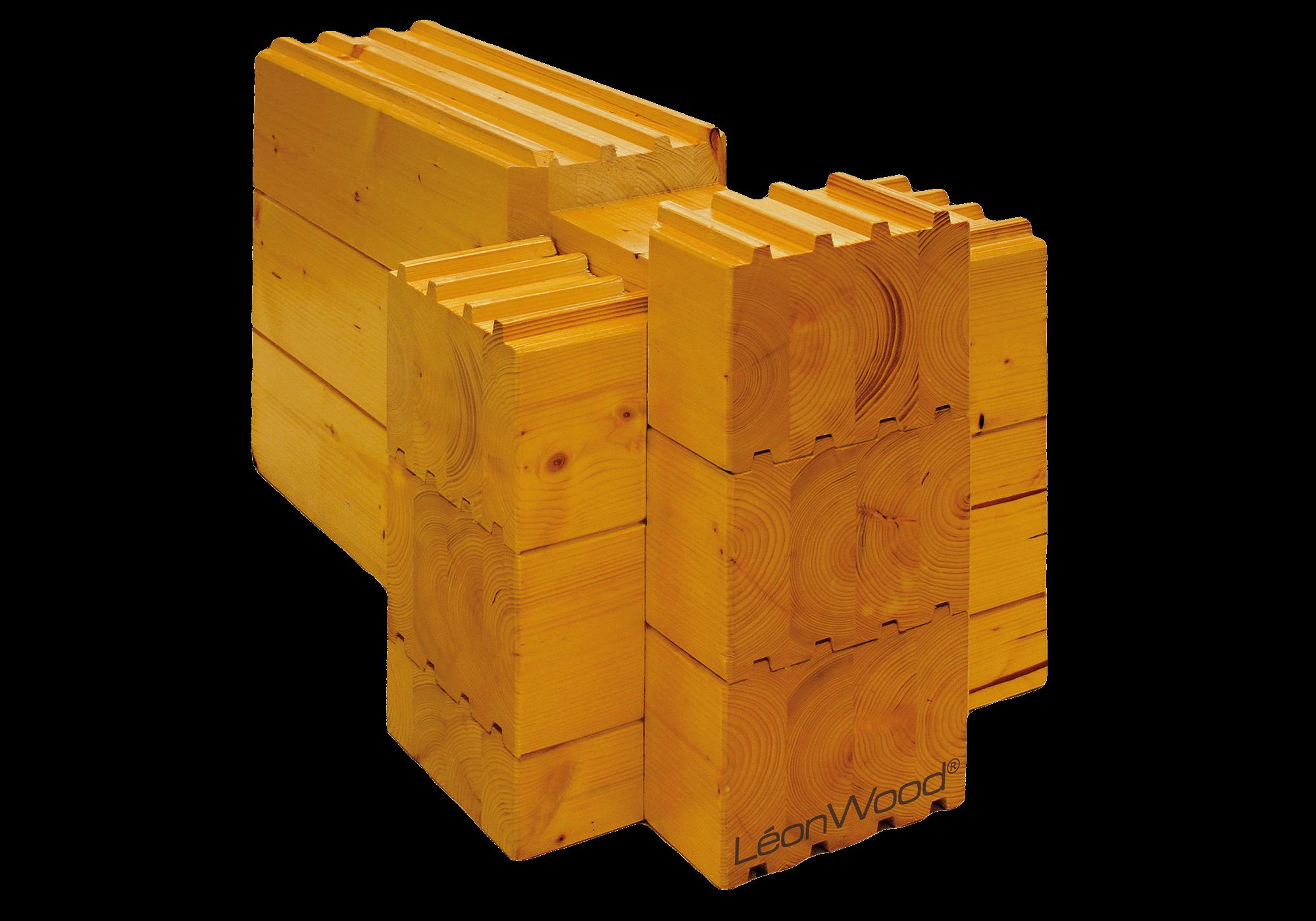 Hochwertiges Blockbohlenhaus nach Ihren individuellen Vorstellungen | mit Vierkantbohle LéonBloc* | Hier geht es zu Ihrem ★ Traumhaus ★ von LéonWood®