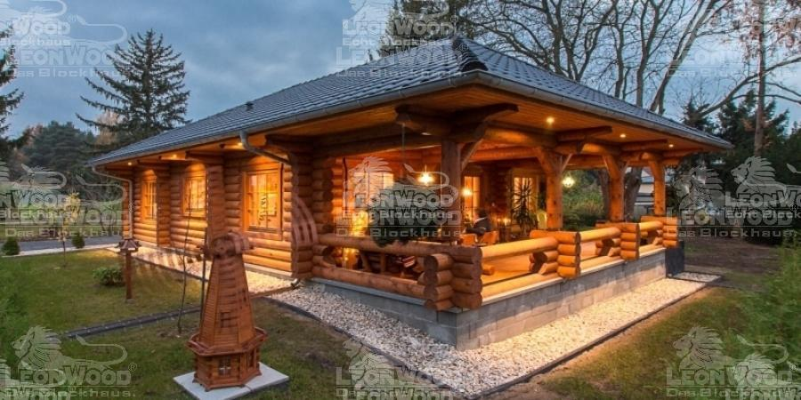 urgem tliches blockhaus elch in zeuthen am see l onwood. Black Bedroom Furniture Sets. Home Design Ideas