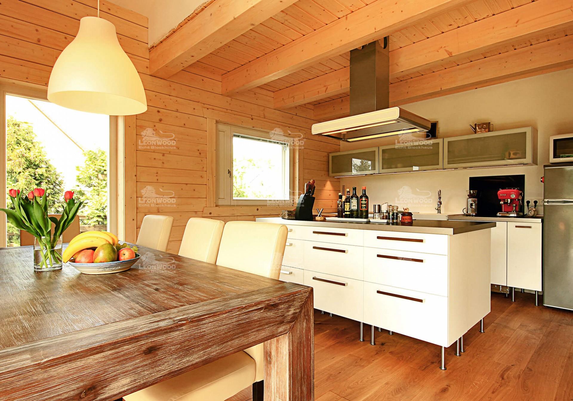 Fantastisch Bilder Von Blockhaus Küchen Fotos - Küche Set Ideen ...