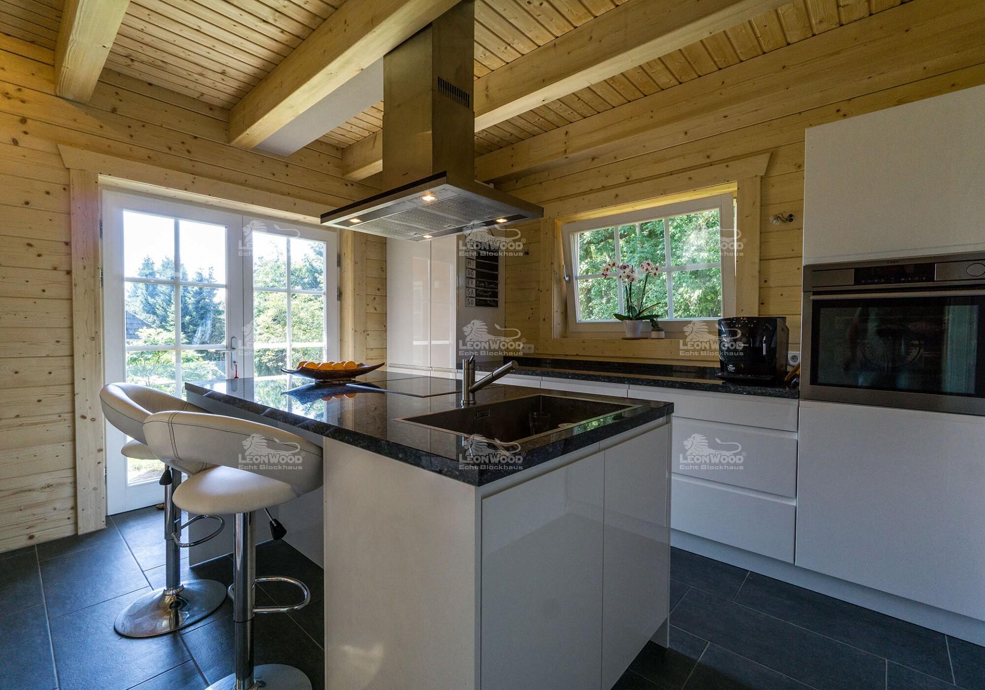 Charmant Blockhaus Küche Bilder Bilder - Küche Set Ideen ...