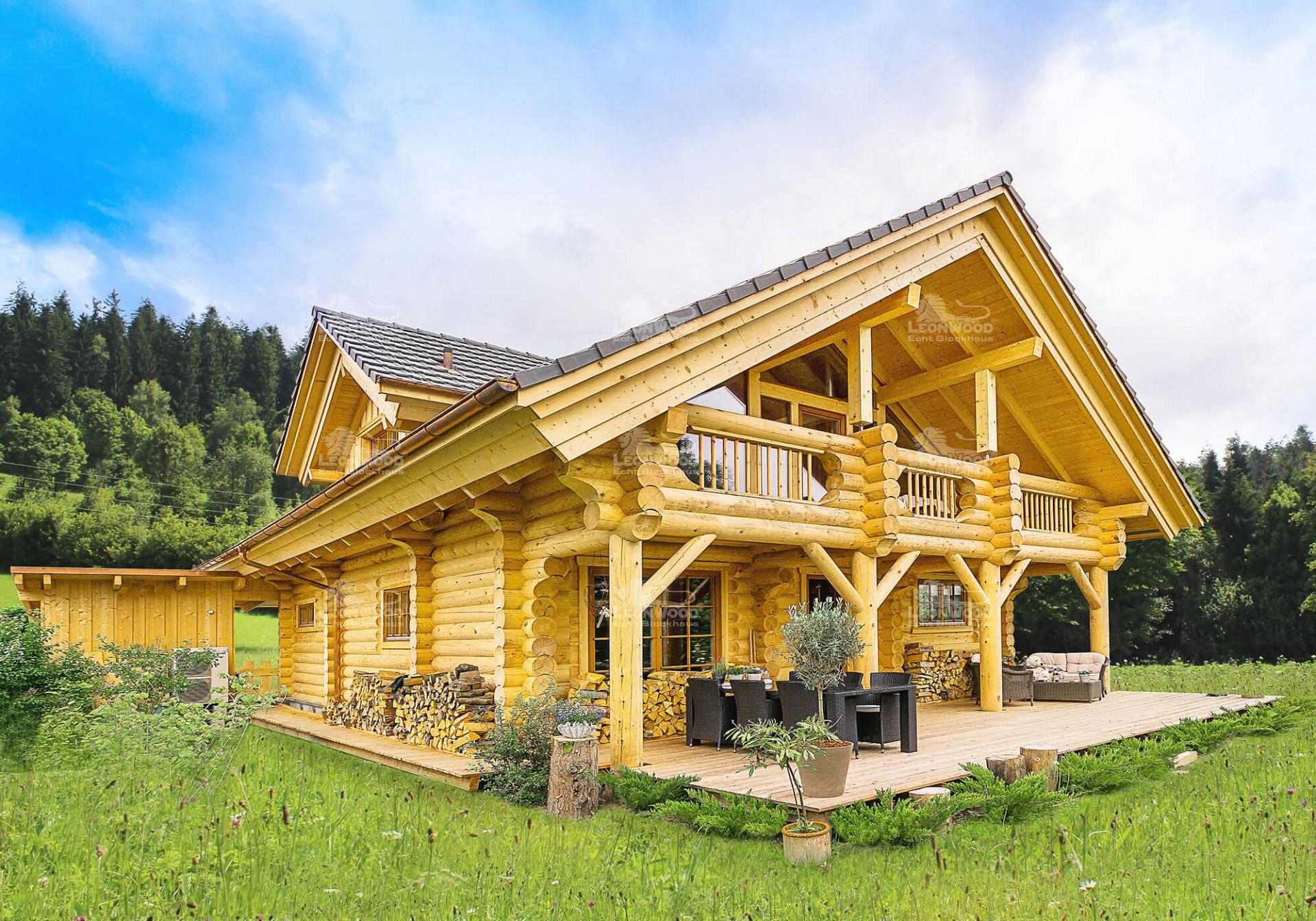 Blockhaus Yukon Leonwood